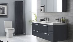 If you want an ultra-modern look then a wall hung double basin will definitely grab attention!