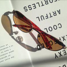 NWOT Tea color Tinted Sunglasses Beautiful tinted sunglasses in tea color. Never worn. Accessories Sunglasses