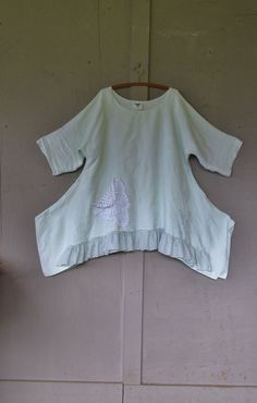 French shabby tunic/original design Bohemian by lillienoradrygoods