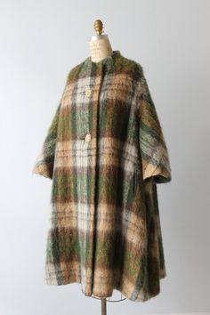 Mohair Coat / Dan Millstein / Trapeze Coat / by TheVintageMistress