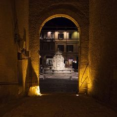 Cesena, Piazza del Popolo by night - Instagram by lyno83