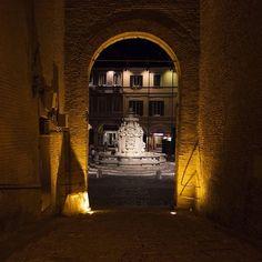 Cesena, Piazza del Popolo by night - Instagram by lyno83