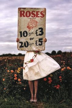 Whimsical photography of Tim Walker.