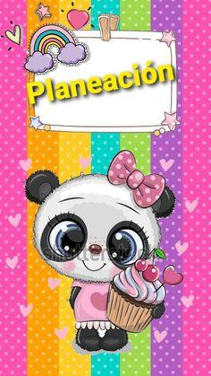 Cute Doodles, Cute Panda, Ideas Para, Notebook, Clip Art, Notes, Scrapbook, Stickers, English