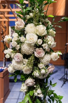 Flowers by Sisters Floral Design Studio www.sistersflowers.net Image by Andrew Joseph Portraits #sistersfloraldesignstudio #weddingflowers #chuppah #arborflowers #whiteivory Chuppah, Flower Designs, Joseph, Wedding Flowers, Floral Design, Floral Wreath, Sisters, Ivory, Portraits