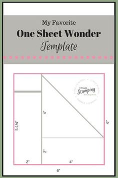Using a one sheet wonder template can make creating a handful of cards quick and easy and still gorgeous - check out my favorite template!NB: PHOTO HEAVY Have you heard of a One Sheet Wonder template? Card Making Templates, Card Making Tips, Card Making Tutorials, Card Making Techniques, Card Templates Printable, Paper Craft Templates, Christmas Card Templates, Card Making Ideas Free Printables, Greeting Card Template