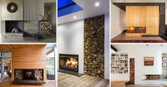 14 Inspirational Ideas For Storing Firewood In Your Home