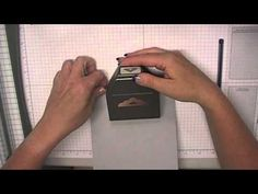 Stamping T! - Tag Topper Punch Card Closure - YouTube