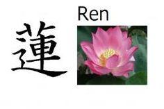 Ren (flor de loto) Significado: Loto (flor) Lectura: Ren Nombre de: Chico o Chica 蓮 en nombres compuestos (Rento, Karen) Nombre común en China también (Lian)