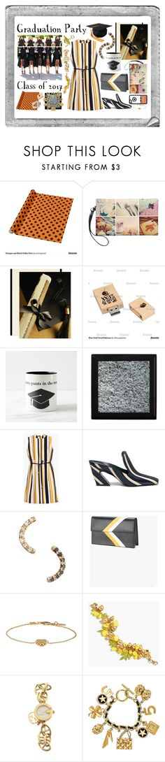 """""""Graduation Party - Class of 2017"""" by victoria-styling ❤ liked on Polyvore featuring Polaroid, Chico's, Mulberry, WWAKE, Tomasini, Gucci, J.Crew and Chanel"""
