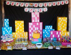 Girly Superhero Birthday Party