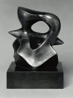 Maquette: Spindle Piece Henry Moore (British, Castleford 1898–1986 Much Hadham)