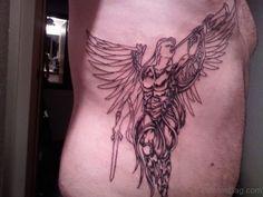 58 Fancy Angel Tattoos For Rib Archangel Tattoo, Archangel Gabriel, Tattoo Outline, Picture Tattoos, Fancy, Outlines, Pictures, Photos, Photo Illustration