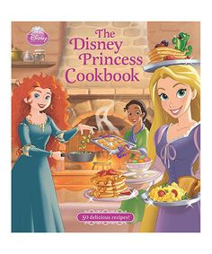This The Disney Princess Cookbook is perfect! #zulilyfinds