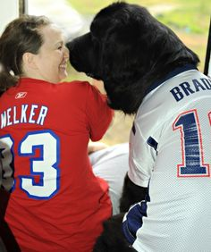 16fdac16cd4 Are you ready for the big game  These two New England Patriot fans are!