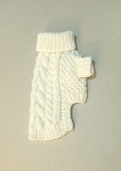 Fisherman's Dog Sweater \\ Cable knit dog sweater \\ Pet Clothing - Small Dogs Clothes \\ Handmade clothes for dogs - BubaDog Knitted Dog Sweater Pattern, Knit Dog Sweater, Dog Pattern, Dog Sweaters, Small Dog Clothes, Pet Clothes, Dog Jumpers, Dog Dresses, Dog Coats
