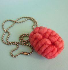 Brain Necklace. $23.00, via Etsy. It's gross, but I like it.