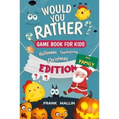 Looking for ways to keep the kids busy, funny and learning during social distancing? If so, you've come to the right placeThe Would You Rather Game Book For kids and Family: is a fun and easy little game for children of all ages to play. As long as they are old enough to comprehend the questions, of course. It keeps them entertained while challenging their brain a bit to get them thinking. This is valuable pack including - Halloween, Thanksgiving and Christmas Edition Kids love Would You Rather Would You Rather Game, Would You Rather Questions, Travel Activities, Book Activities, Fun Classroom Games, Card Games For Kids, Little Games, Road Trip With Kids, Hilarious