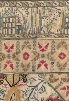 19th CENTURY GREEK EMBROIDERY FROM EPIRUS - Yorke Antique Textiles Fabric Art, Linen Fabric, Greek Traditional Dress, Greek Design, Textiles, Needle Book, Ancient Greece, Bohemian Rug, Ottoman