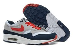 http://www.topadidas.com/nike-air-max-1-87-mens-shoes-2014-new-grey-blue-orange.html Only$89.00 #NIKE AIR MAX 1 87 MENS #SHOES 2014 NEW GREY BLUE ORANGE #Free #Shipping!