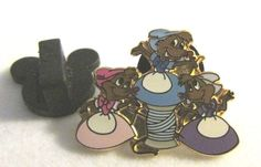 Disney Mice House Helpers From Cinderella Frame Set WDW Rare LE 500 Pin #disney
