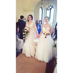 Marriage Advice For Newlyweds Quotes Key: 4457294533 Lesbian Wedding, Lesbian Love, Wedding Pics, Wedding Bride, Dream Wedding, Wedding Day, Wedding Dresses, Double Wedding, Wedding Goals