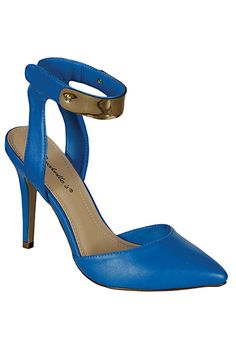 941a008ccaf BLUE ALL DAY.... FLIRTY FITS..... Blue Pumps