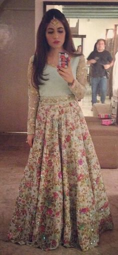Formal shadi outfit