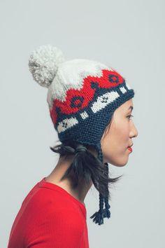 Snowball Cap Knitting Pattern 169b024e84f5