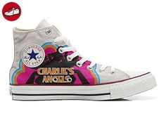 Converse All Star Hi Customized personalisierte Schuhe (Handwerk Schuhe) Charlies Angels TG46 - Sneakers für frauen (*Partner-Link)