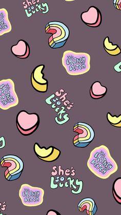 Butterfly Wallpaper Iphone, Cute Wallpaper For Phone, Homescreen Wallpaper, Cute Patterns Wallpaper, Emoji Wallpaper, Kawaii Wallpaper, Cute Wallpaper Backgrounds, Tumblr Wallpaper, Love Wallpaper