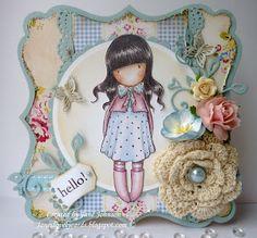 5/30/2011; Jane at 'Jane's Lovely Cards' blog; Gorjuss Girls