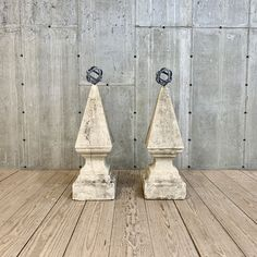 Pair of C. Carved Limestone Finials with Armillary Sphere Tops - RT Facts - Kent, CT Sphere, Armillary Sphere, Furniture Design Modern, Finials, Perfect Garden, Decorative Bells, Carving, Limestone, Classic Garden