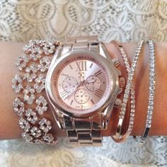 Rose Gold Wrist Party
