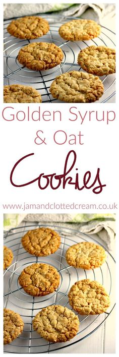 Golden Syrup and Oat Cookies biscuit recipe;canned biscuit recipes; Oat Cookie Recipe, Oat Cookies, Biscuit Cookies, Biscuit Bar, Cookie Recipes, Cookie Dough, Easy Biscuit Recipe, Baking Cookies, Healthy Biscuits