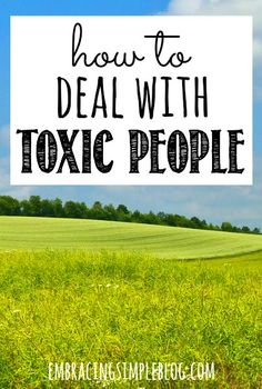 Toxic people tend to judge others, spread negativity, and have a gift for leaving you feeling heavy-hearted and stressed out after being in their presence. Click to read how to stop wasting your energy on toxic people and increase your overall happiness and well-being!