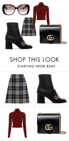 """""""Love you Gucci"""" by blankakvas ❤ liked on Polyvore featuring Gucci and A.L.C."""