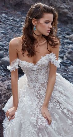 Wedding Dresses GALA by Galia Lahav Wedding Dress Collection - Ready for some impossibly beautiful bridal gowns? GALA by Galia Lahav Wedding Dress Collection has it all. This is one stunning bridal collection that's guaranteed to take your breath away! Best Wedding Dresses, Bridal Dresses, Wedding Gowns, Maxi Dresses, Wedding Ceremonies, Party Gowns, Designer Wedding Dresses, Bridal Collection, Dress Collection