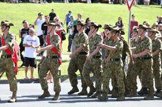 ANZAC Day March - Nerang RSL & Memorial Club Nerang, Gold Coast, QLD