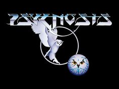 logo for old school games studio psygnosis. feels quite band-like, and the owl gives it a nice sense of atmosphere/mystery. don't like the secondary owl head thing though.