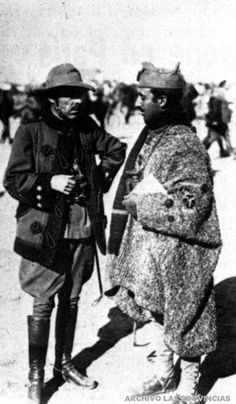 El comandante Franco en la campaña de Marruecos | ARCHIVO LAS PROVINCIAS