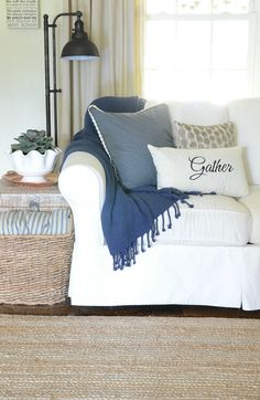 Decorating with Color:  Navy Blue!