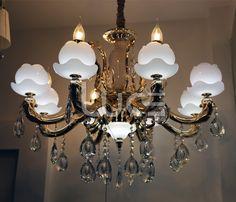 Đèn chùm có thiết kế tinh tế và sang trọng