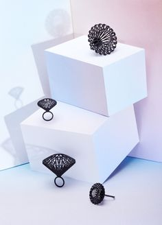 3ders.org - Italian designers launched MYBF new collection of 3D printed jewelry | 3D Printer News & 3D Printing News