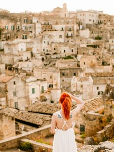 See: -My favorite views of the city were from Convent of Saint Agostino and Casa Grotta di Vico Solitario. -The old cave dwellings; there are some you can tour in the Sassi and more you can see by hik