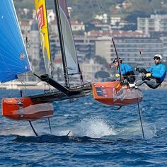 #flyingphantom series Cannes 2016 day 1  Photo by Pierrick Contin #regatta #Cannes #cannesbay #bestsailors #foiling #foilinggeneration #flyingphantomseries