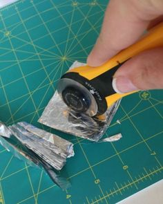 If you're a crafter (especially if you sew) a rotary cutter is your friend. It might even be your favorite craft tool. I will say that one of the most frustrating things is when you go to cut a piece of...