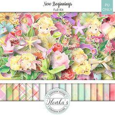 Artistic Creative Designs : New Beginnings by Ilonka Scrapbookk Designs
