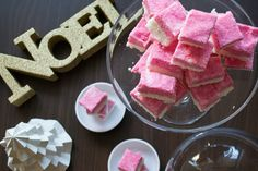 A very rich, creamy version of the old fete and Christmas favourite, Coconut Ice.