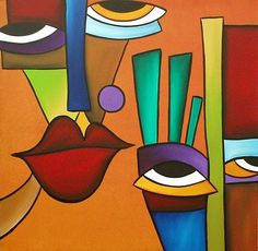 The Modern Art Movements – Buy Abstract Art Right Cubist Paintings, Cubist Art, Abstract Face Art, Modern Art Movements, Hippie Art, Art Portfolio, Art Day, Canvas Art, Illustration